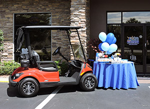 Coastal Carts Tailgate Party & Events