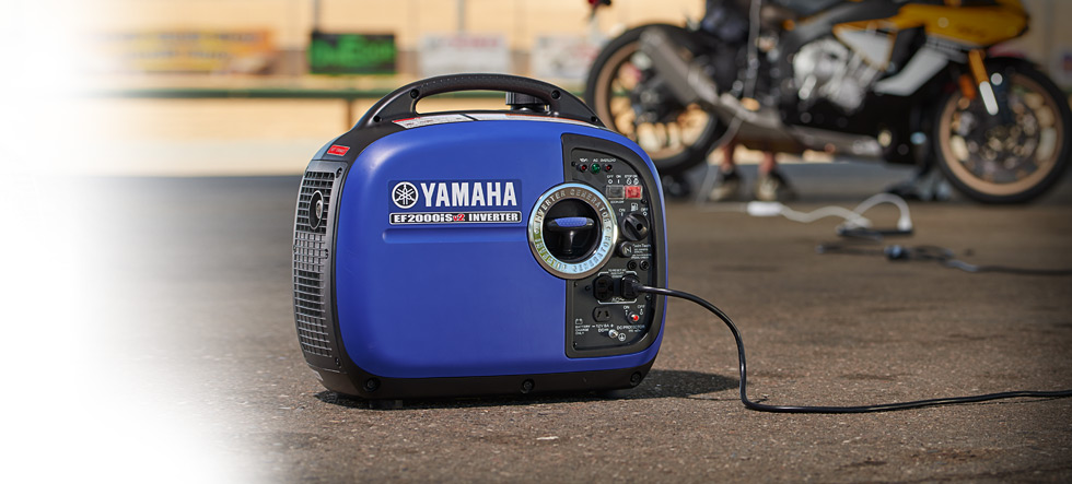 EF2000iSV2-01 Yamaha Inverter available at Coastal Carts
