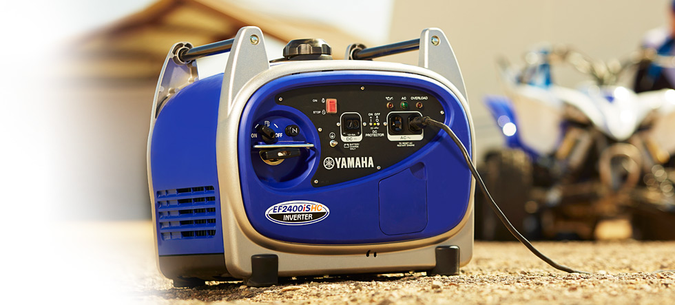 Yamaha Inverter EF2400iSHC available at Coastal Carts