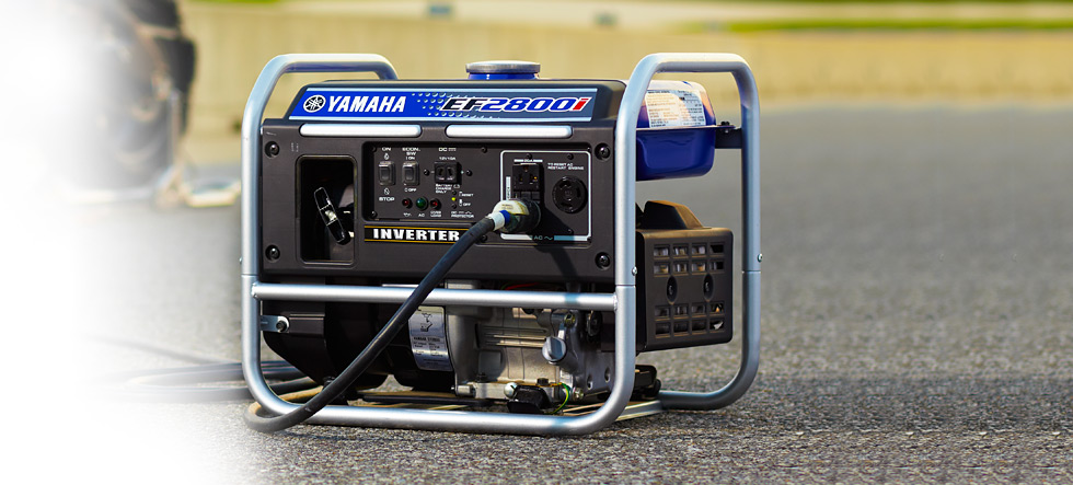 EF2800i Yamaha Inverter available at Coastal Carts
