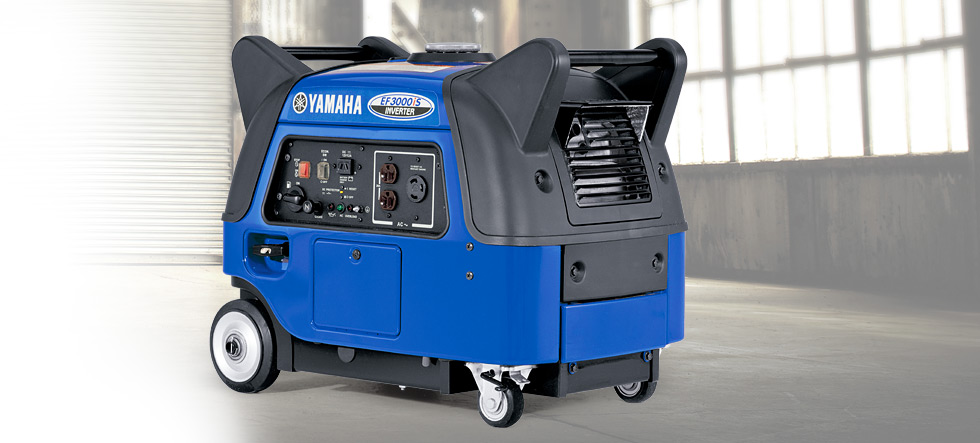 EF3000iS Yamaha Inverter available at Coastal Carts