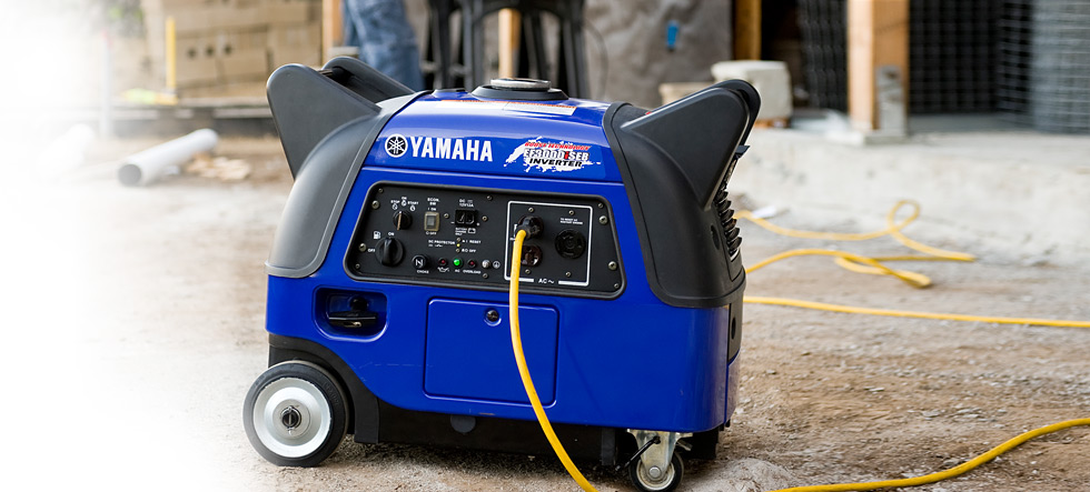 EF3000iSEB Yamaha Inverter available at Coastal Carts