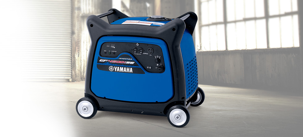 EF4500iSE Yamaha Inverter available at Coastal Carts