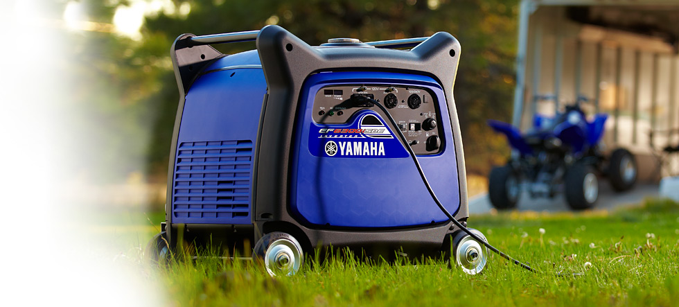EF6300iSDE Yamaha Inverter available at Coastal Carts