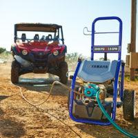 PW 3028 Yamaha Power Washer available at Coastal Carts