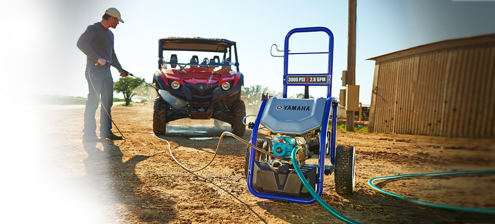 PW 3028 Yamaha Power Washer available at Coastal Carts