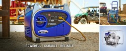 Coastal Carts is an authorized dealer of Yamaha Power Equipment.