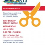 Coastal Carts Ribbon Cutting Celebration with Estero Chamber of Commerce