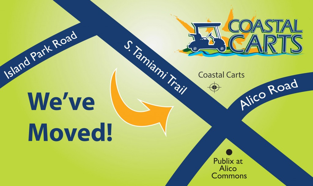 Contact Coastal Carts of SWFL by using our map