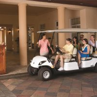 Street Legal Concierge 6 by Yamaha for Commercial Use available at Coastal Carts