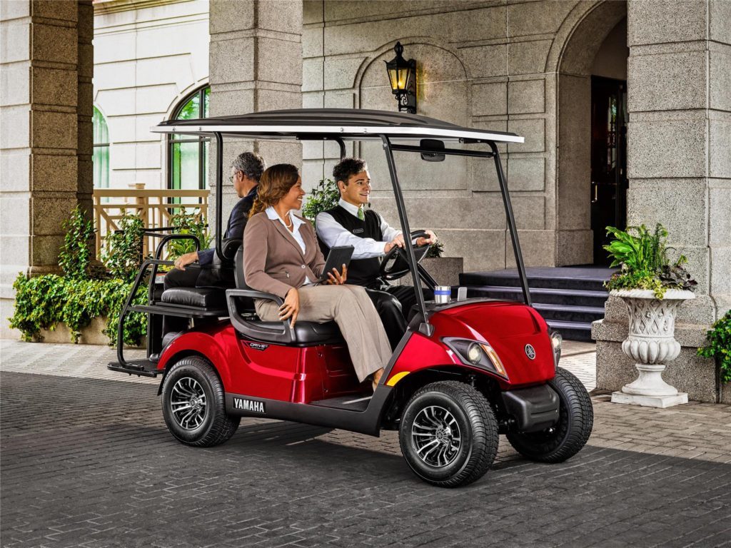 Yamaha Street Legal Golf Carts available at Coastal Carts
