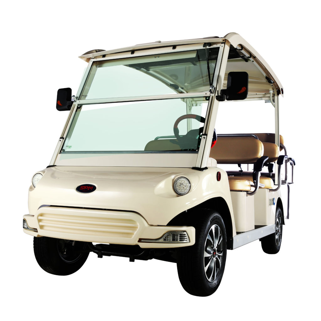 US Electric Vehicle People Mover available at Coastal Carts