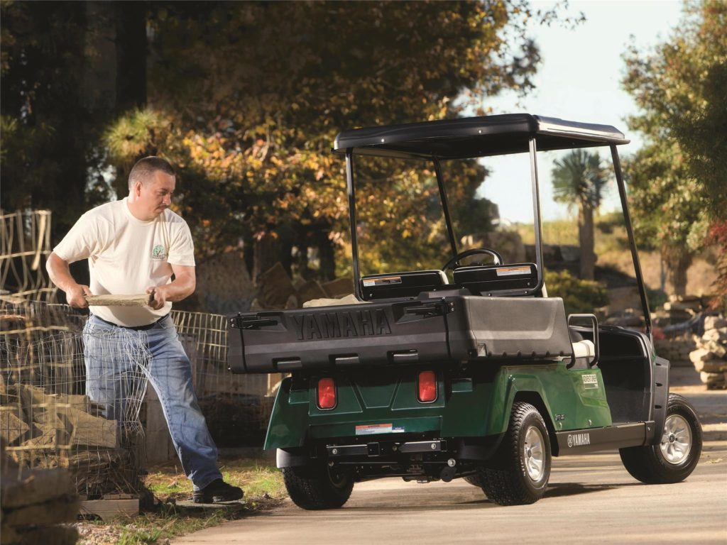 Adventurer Two Utility Cars available at Coastal Carts
