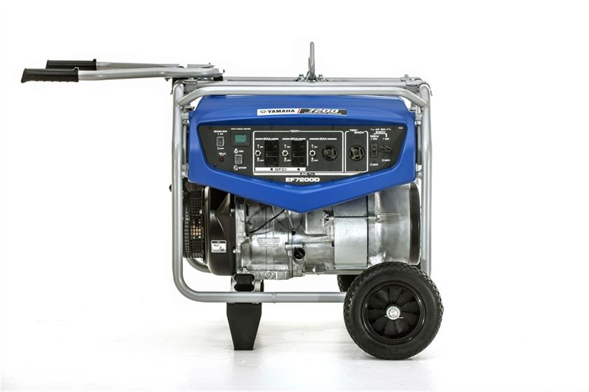 EF7200-01 Generator by Yamaha available at Coastal Carts
