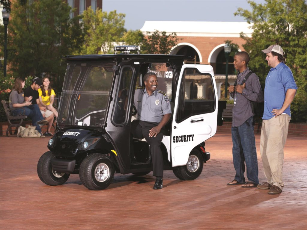 Personal Security Vehicle by Yamaha available at Coastal Carts