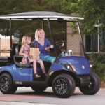 Drive2 2-4 passenger people mover commercial golf cart offer by Coastal Carts