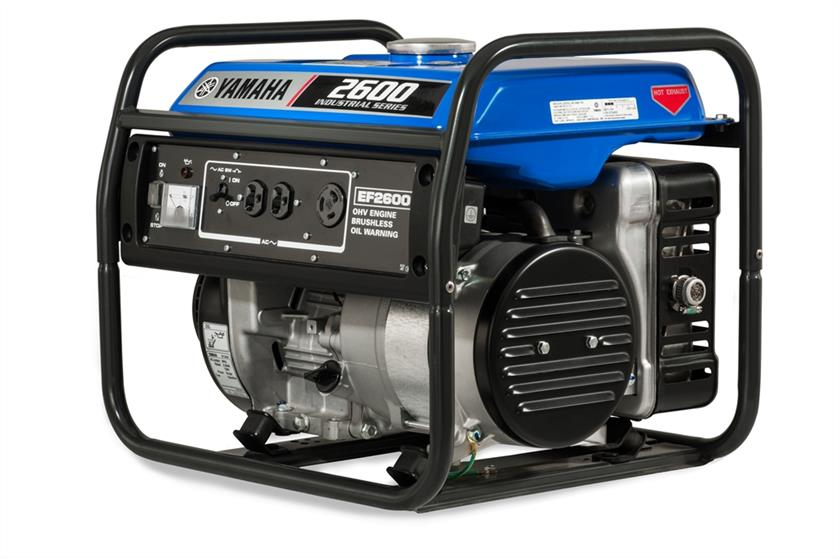 EF2600-01 Yamaha generator available at Coastal Carts