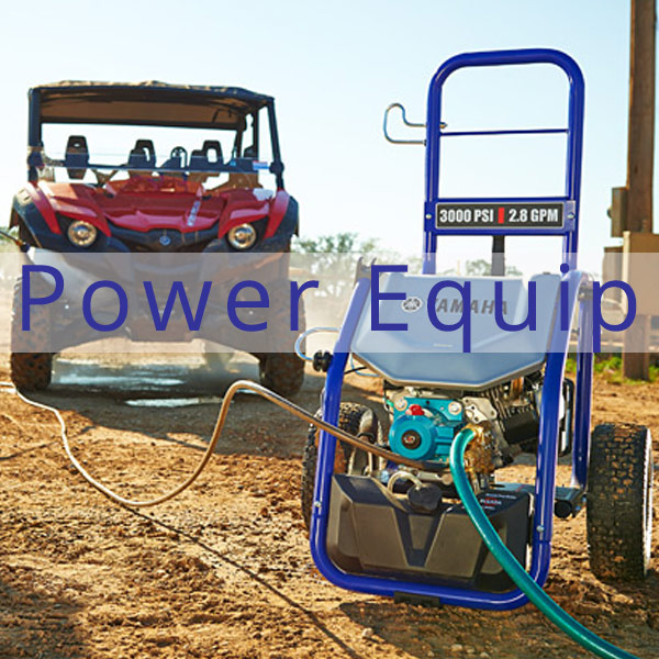 Coastal Carts line of Power Equipment by Yamaha
