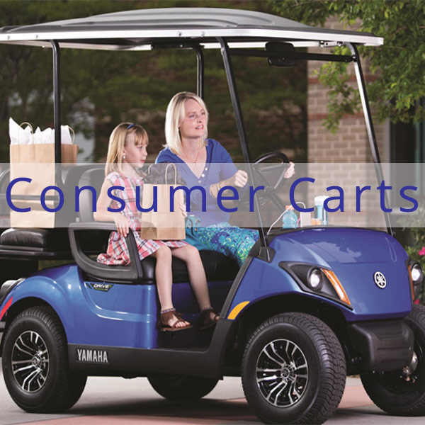 Coastal Carts Consumer Golf Carts featuring Yamaha, Tomberlin, and People Mover Golf Carts