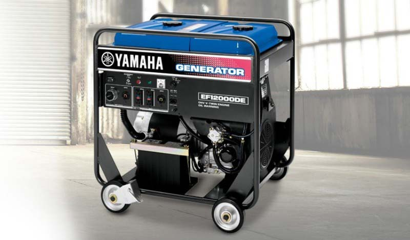 ef12000de-01 Yamaha Generator available at Coastal Carts