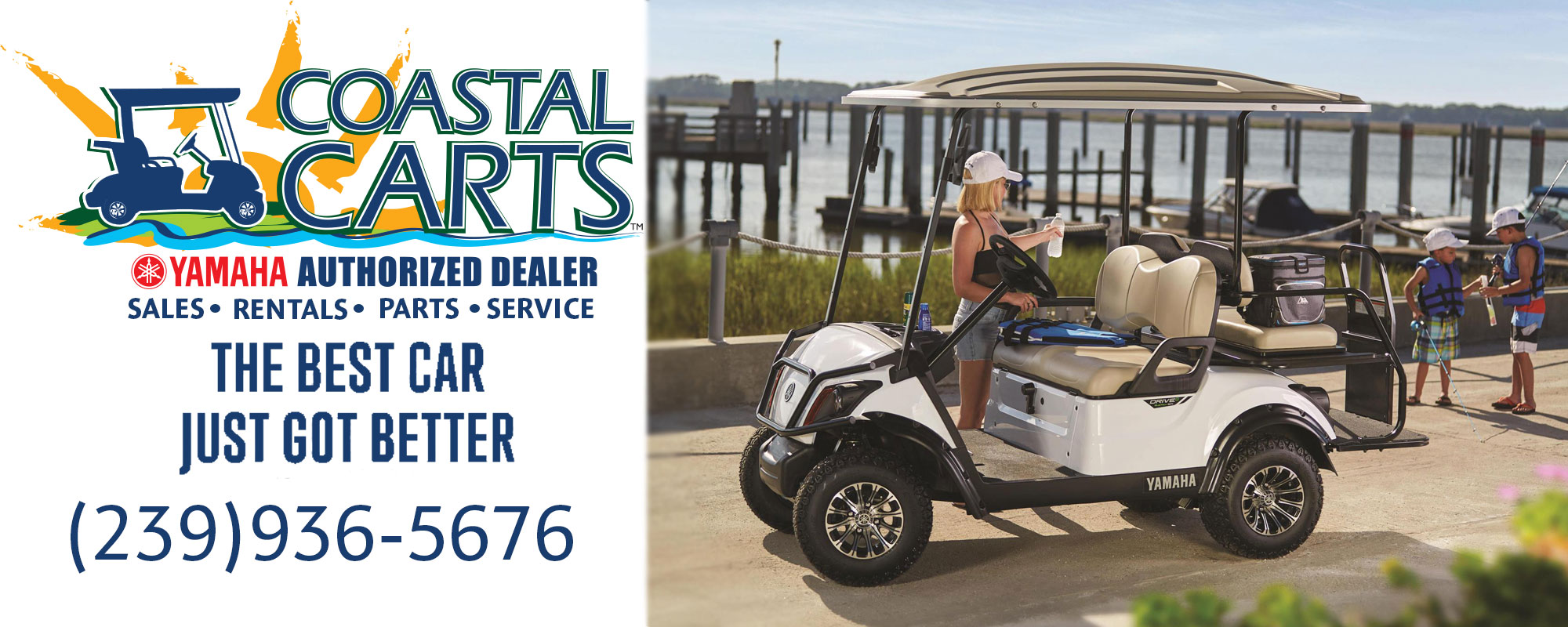 Golf Cart Dealership including Service, Repair, and Rentals